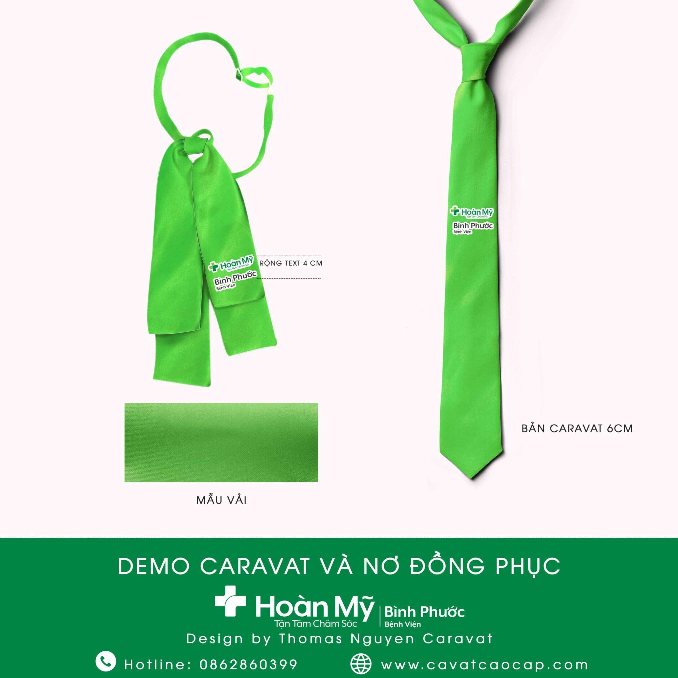 nơ đồng phục Bệnh viện Hoàn Mỹ Bình Phước