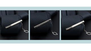 Hướng dẫn cách đeo kẹp cà vạt có dây – Mẹo phong cách quý ông