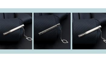 Hướng dẫn cách đeo kẹp cà vạt có dây - Mẹo phong cách quý ông